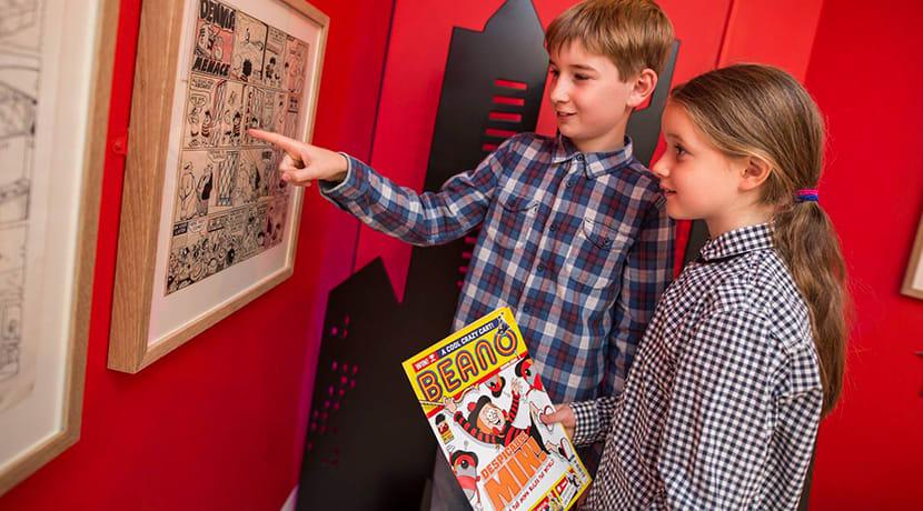 Exploring comic book art in Ironbridge