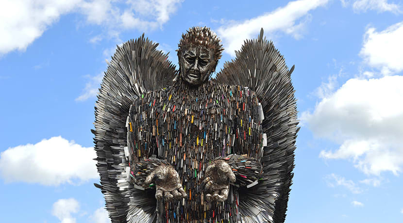 Knife Angel's visit to Wolverhampton postponed