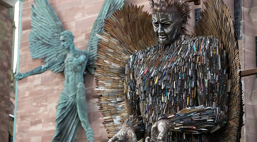 Knife Angel to visit Birmingham on its tour of the UK
