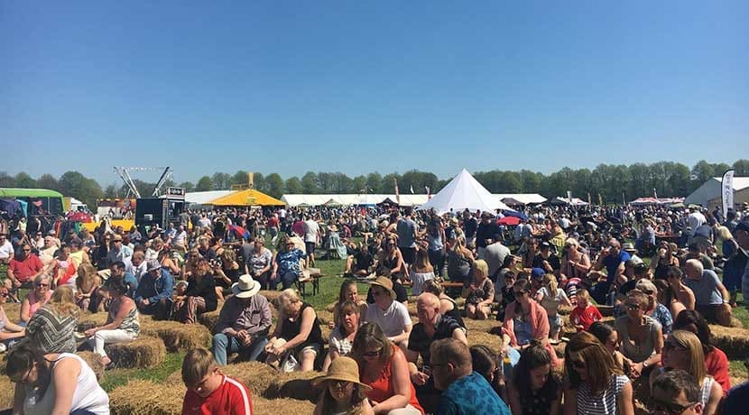 Chillington Hall gets ready for its first Food and Drink Festival
