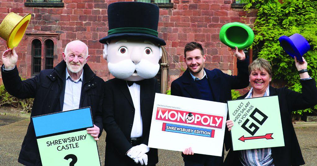 Shrewsbury gets its very own Monopoly set