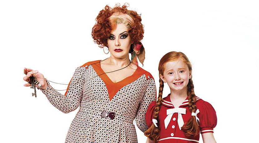 Jodie Prenger to star as Miss Hannigan in the musical Annie at Birmingham Hippodrome