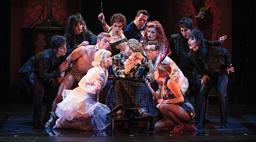 The Rocky Horror Show is coming to Birmingham this month