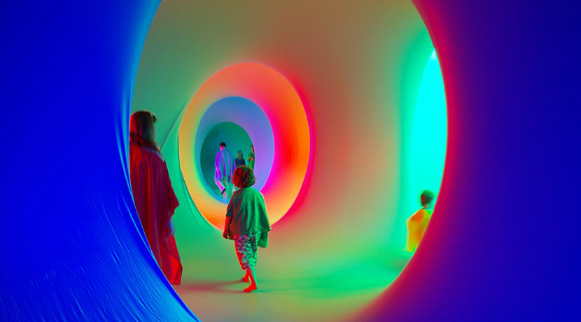 A walk-in labyrinth of intense colour and light is coming to Cannon Hill Park