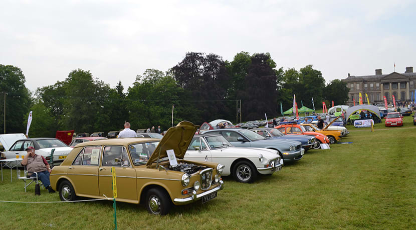 Classic Motor Show returns to Ragley Hall this Bank Holiday weekend