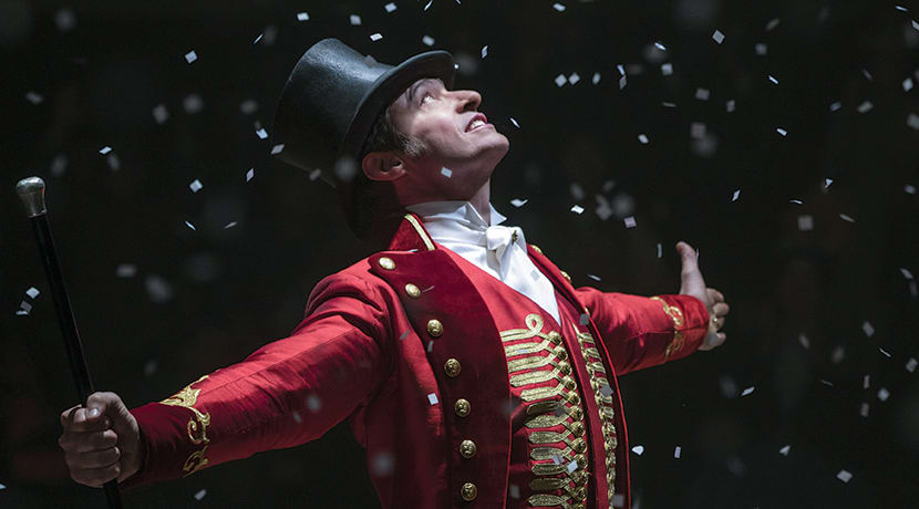 The Greatest Showman in the great outdoors...