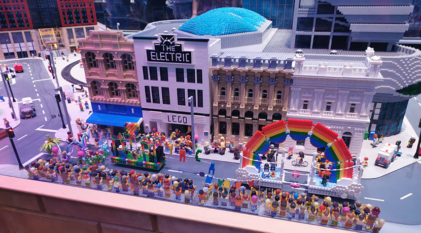 Pride celebrations arrive in Birmingham's Miniland