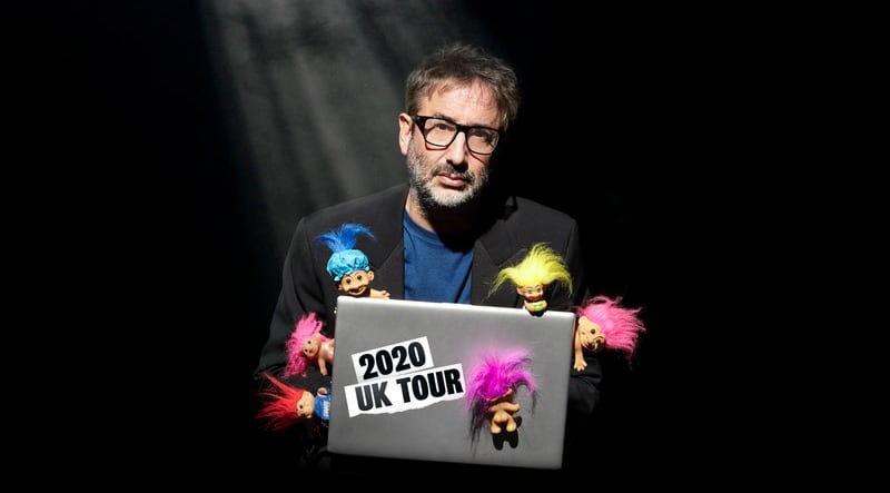 David Baddiel talks trolls, Twitter and Trump