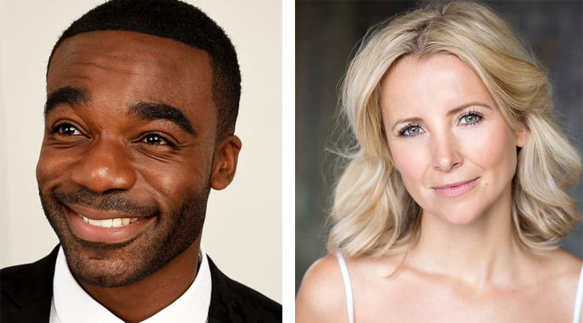 Ore Oduba and Carley Stenson join the cast of Curtains The Musical