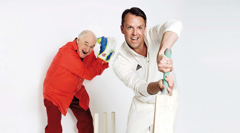 Swann & Blofield: Dancing Down The Wicket