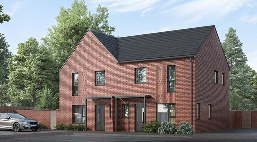 New homes given the green light on former Merry Hill House site
