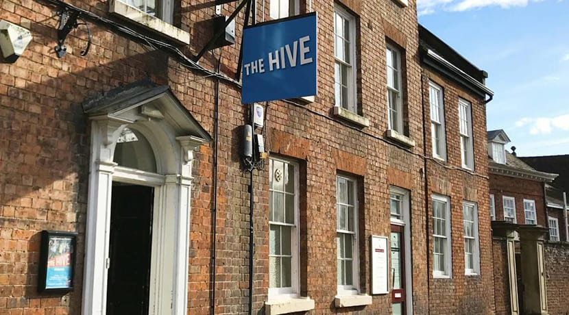 The Hive celebrates £350k funding