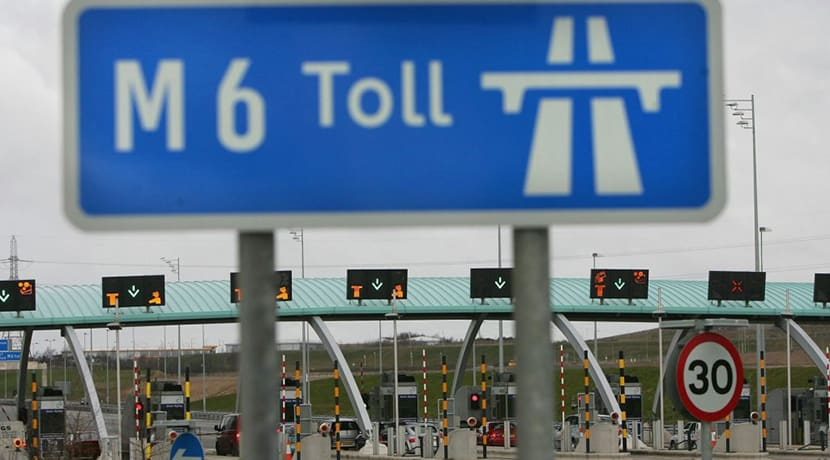 M6 Toll bosses announce price increase