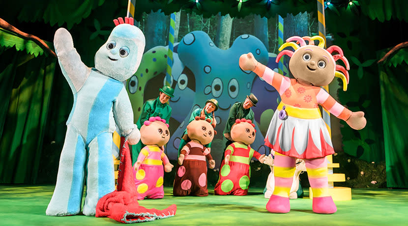 Win a family ticket to In The Night Garden Live