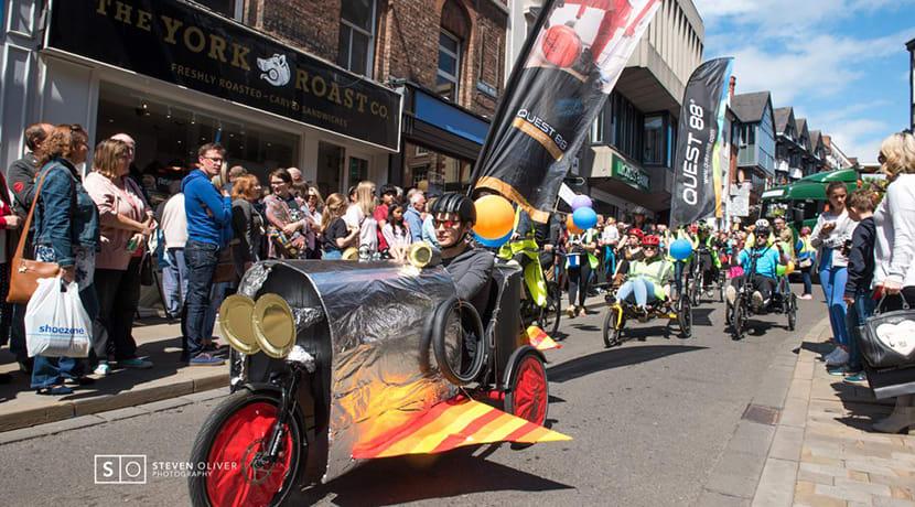 Shrewsbury set for carnival joy this weekend