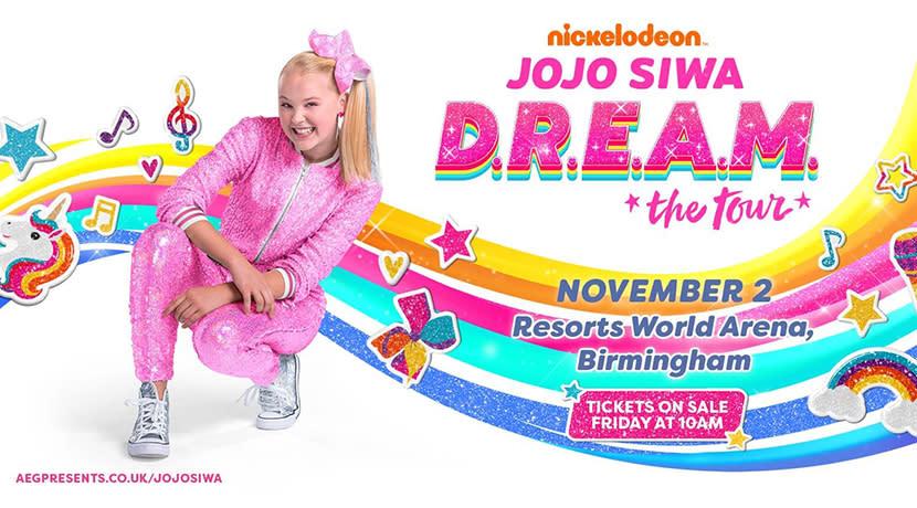Nickelodeon superstar JoJo Siwa brings first ever concert tour to Birmingham