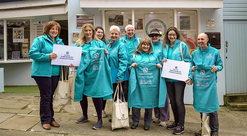 Could you be a Shrewsbury Ambassador?
