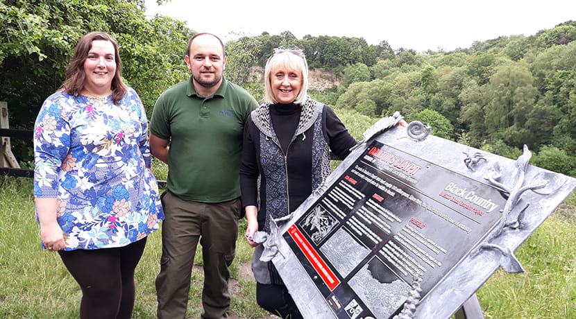 New base for Saltwells Nature Reserve
