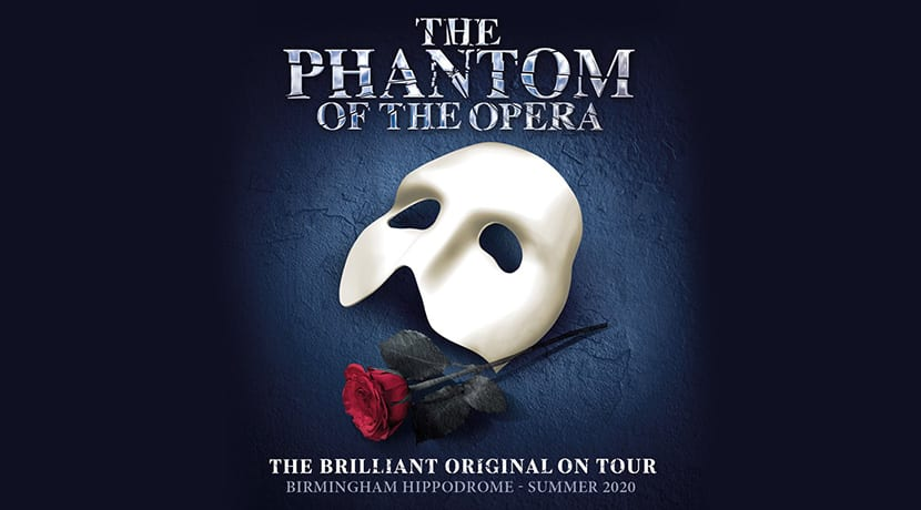 The Phantom of the Opera set to haunt the Hippodrome in 2020
