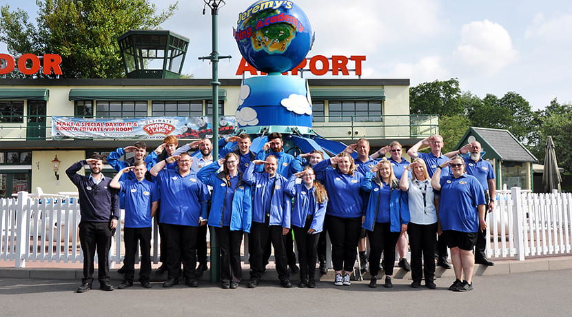 Drayton Manor Park offers free entry to British Armed Forces personnel