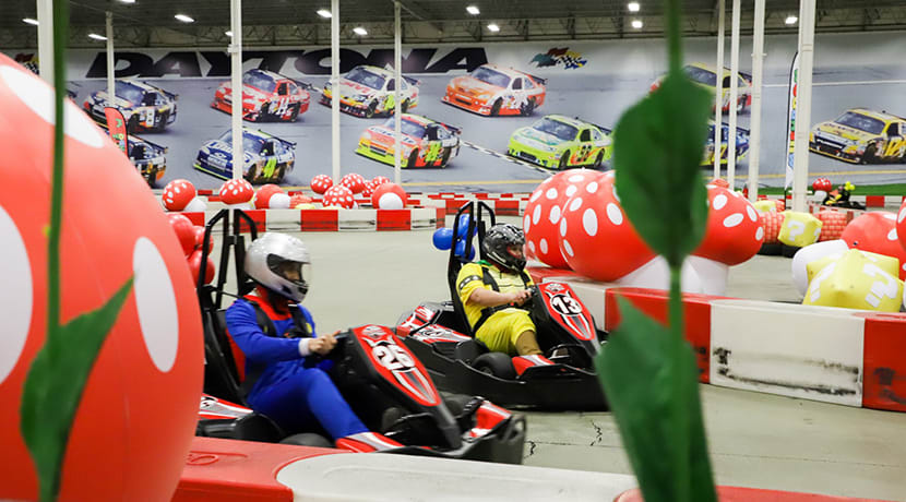 Mushroom Rally - the ultimate fancy dress go karting experience - is coming to Birmingham