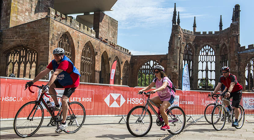 HSBC UK Let's Ride Coventry
