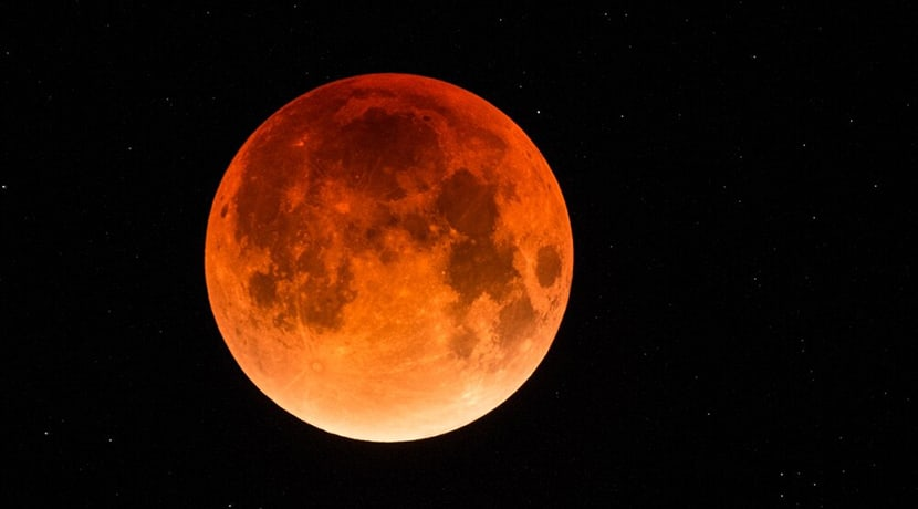 There will be a partial lunar eclipse and red moon tonight