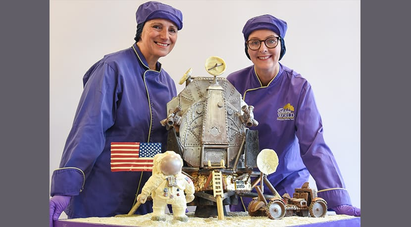 Cadbury World unveils latest out of this world chocolate creation