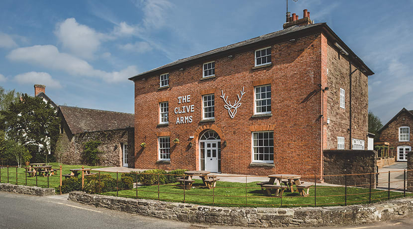 Ludlow's 'farm to fork' inn has had a complete facelift