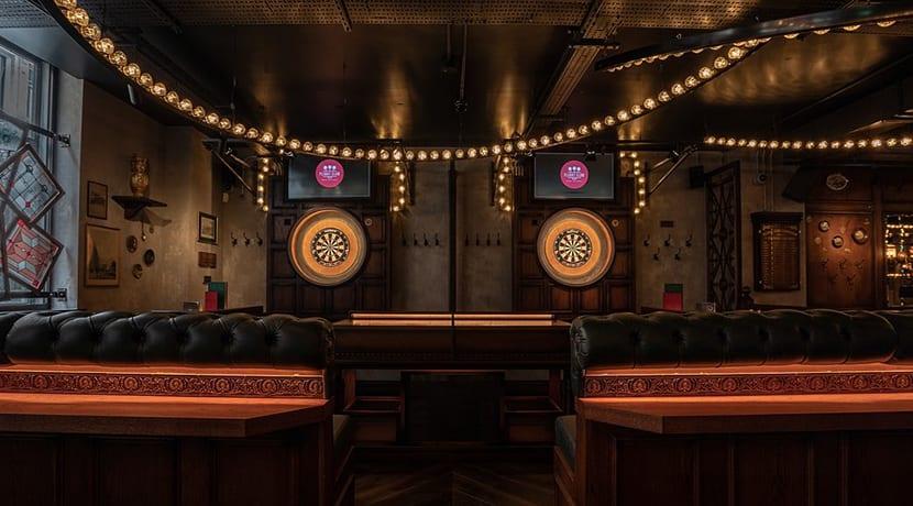 Social darts experience, Flight Club is now open in Birmingham