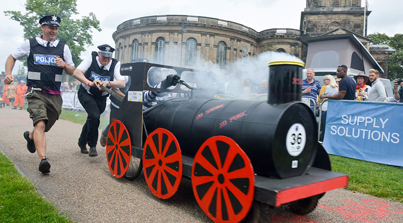 Shrewsbury Wacky Races to expand in 2020
