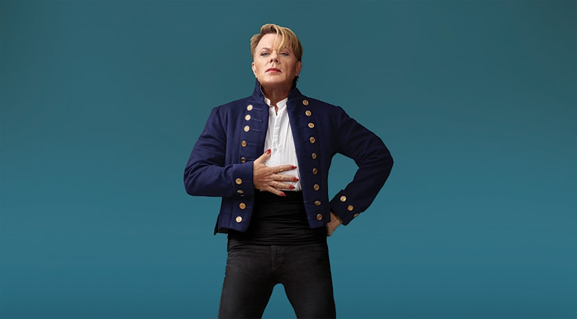 Eddie Izzard talks ahead of Wunderbar's visit to Birmingham
