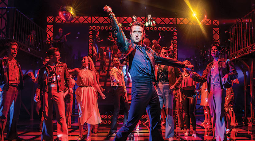 Richard Winsor talks ahead of Saturday Night Fever