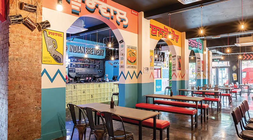Indian Brewery: a quirky independent restaurant with stylish food and a unique ambiance