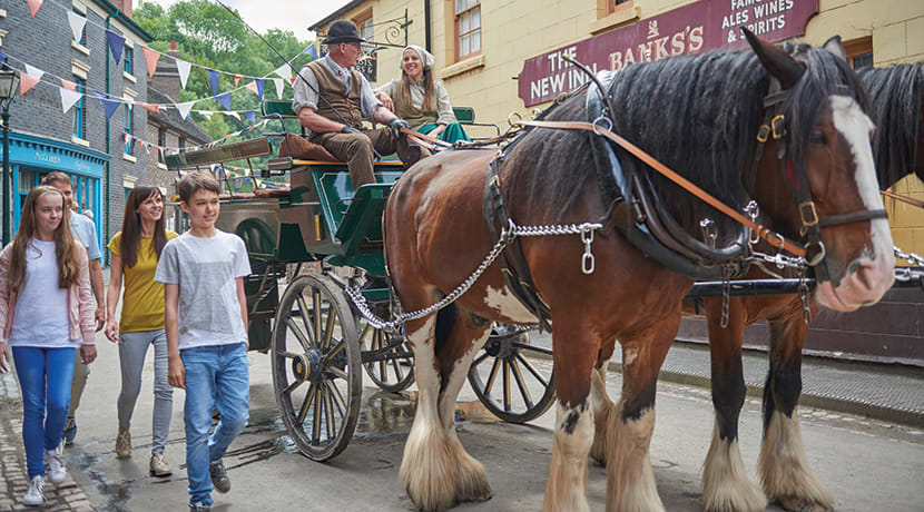 A family pass to Blists Hill Victorian Town