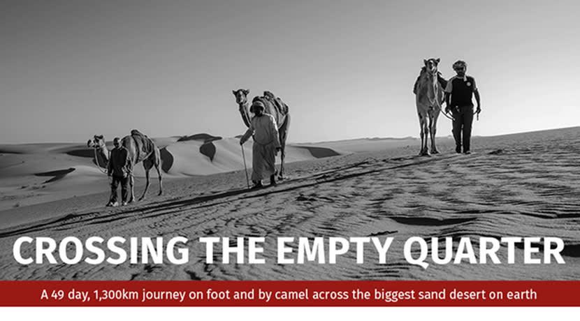 Mark Evans - Crossing The Empty Quarter