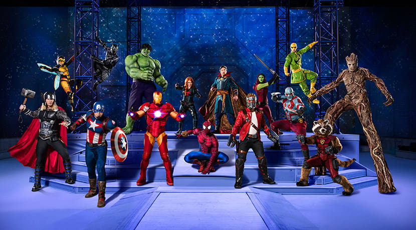 Win a family ticket to Marvel Universe Live!