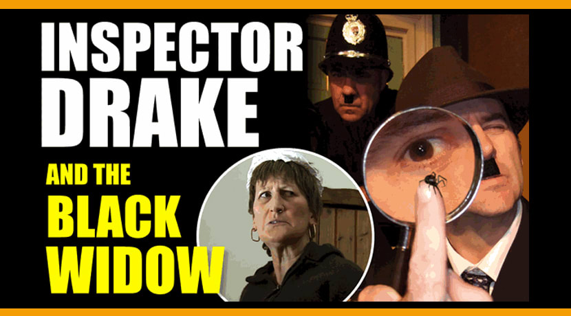 Inspector Drake and the Black Widow
