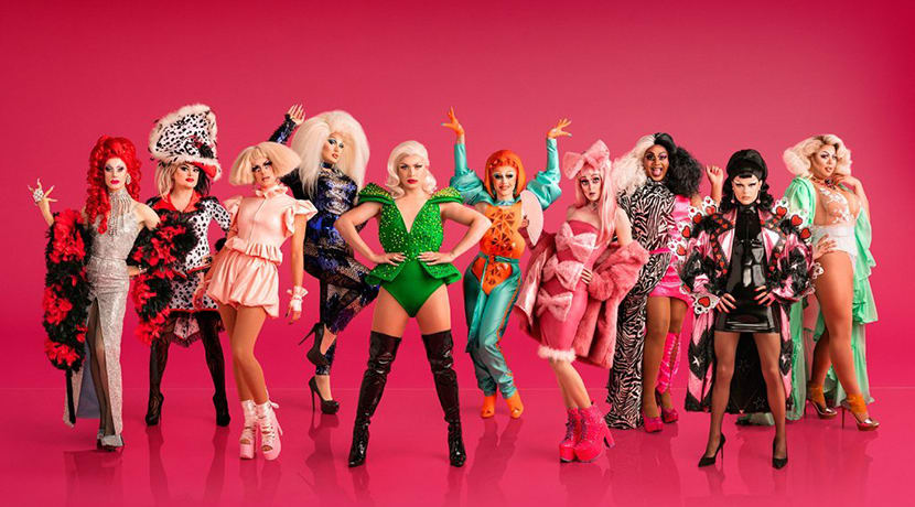 The first ever line-up for RuPaul's Drag Race UK confirmed