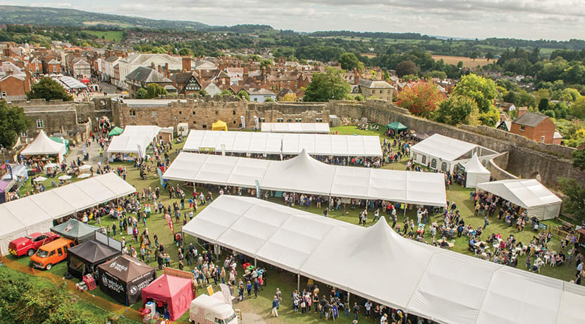 Ludlow's food festival celebrates its 25th anniversary