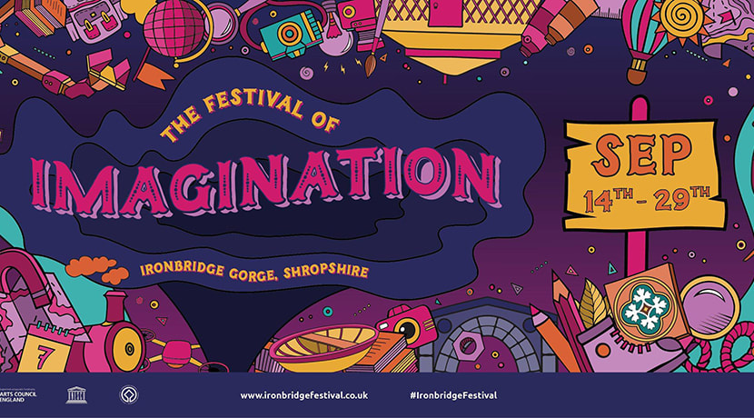 Ironbridge festival promising a feast  for the Imagination
