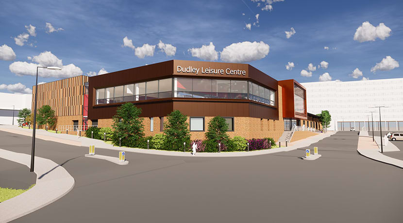 Splashing new Dudley Leisure Centres designs