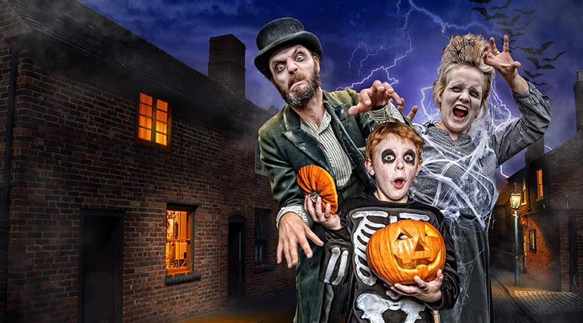 Families in for a thrilling night of Halloween fun at Black Country Living Museum