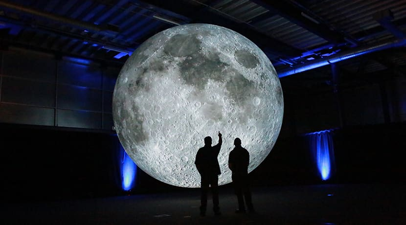 Immersive 'Museum of the Moon' visits Ironbridge Museum
