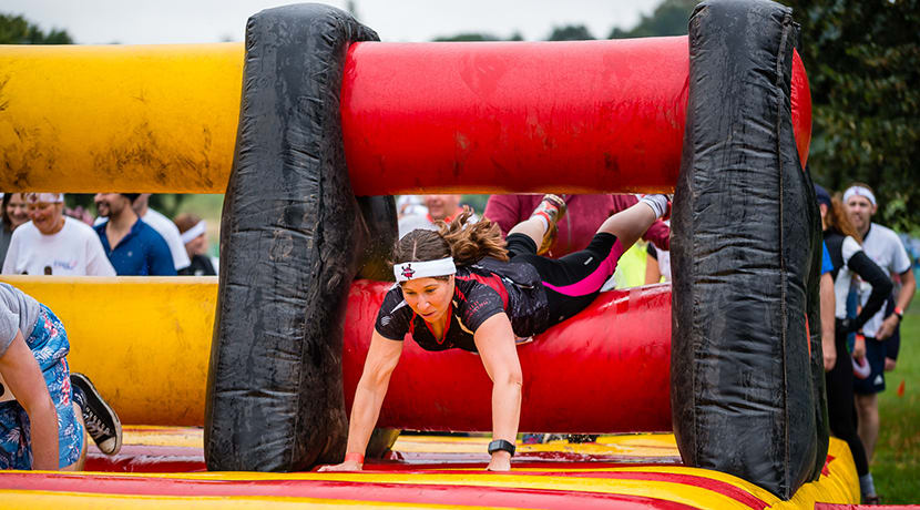 A giant chocolate-inspired obstacle course is coming to Birmingham