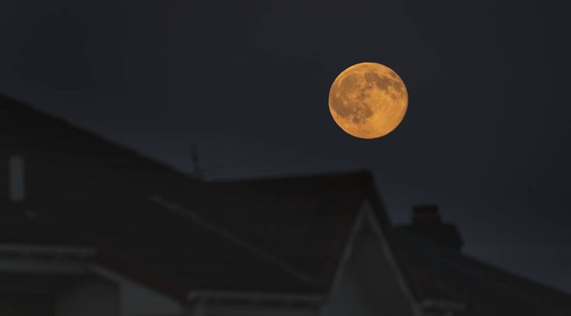 A rare Harvest Moon to appear on Friday 13th tonight