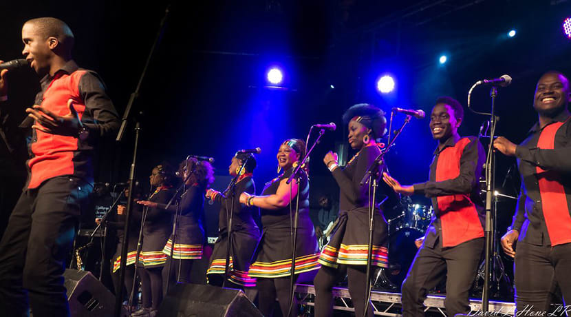 Paul Simon's Graceland performed by the London African Gospel Choir