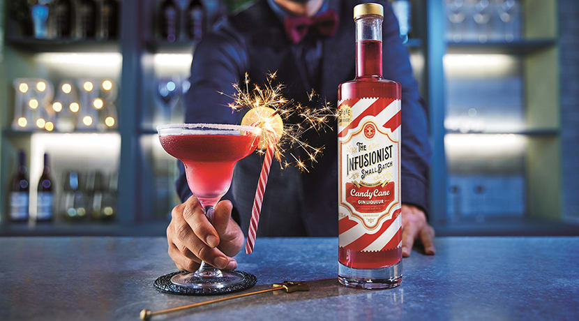 Aldi launches new candy cane gin liqueur