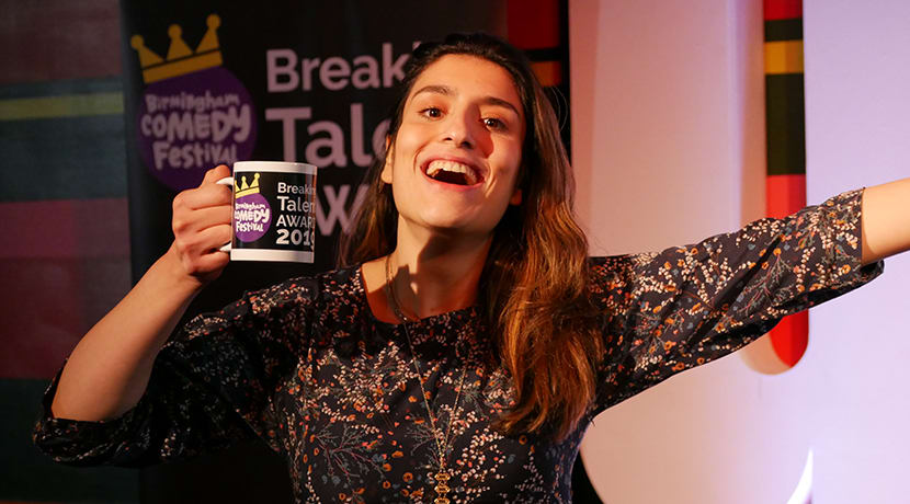 Birmingham's Celya AB scoops major comedy award