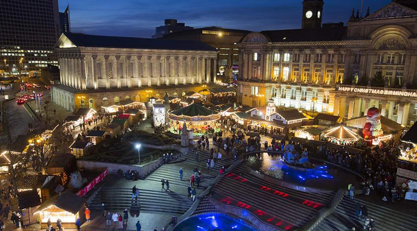 Birmingham's Frankfurt Christmas Market opens next month